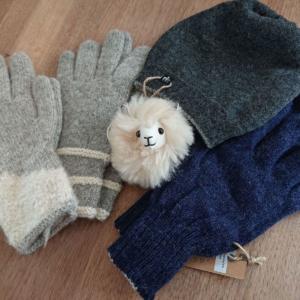 Accessoires aus Alpakawolle
